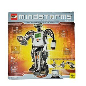 Mindstorms NXT 8527 Lego Robot w/BOX Missing Tire